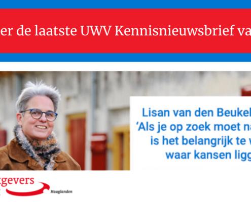 Kennisnieuwsbrief UWV december 2020