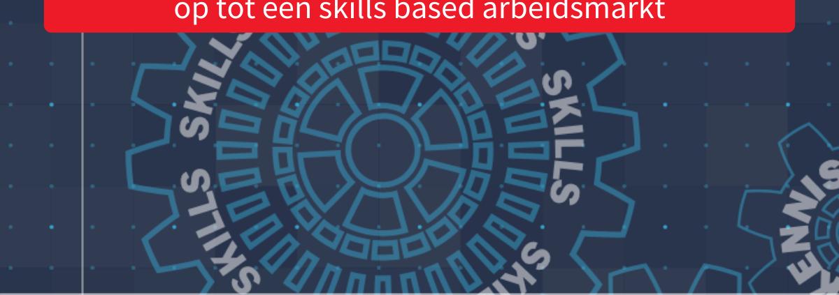 Een toekomstbestendige arbeidsmarkt op basis van Skills, paper TNO